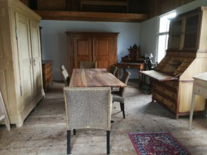 Wirtshaustisch Tisch Nussbaum geölt