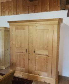 Biedermeier Schrank restauriert 2-türig